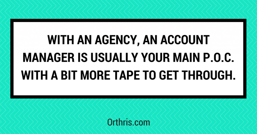 agency account managers